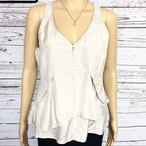 J. Crew Silk Layered Tank Top 4